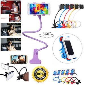 Lazy-Bras-Telephone-Mobile-Cellulaire-Lit-Voiture-Flexible-Reglable-360-Mountain-Holder