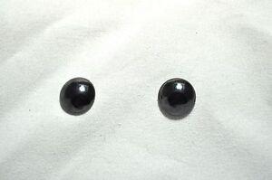 Image Is Loading Uni 12 Mm Non Allergic Stud Black Hemae
