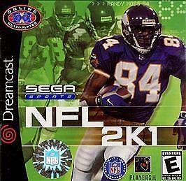 NFL 2K1 (Sega Dreamcast, 2000) for sale online | eBay