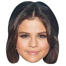 Selena Gomez Celebrity Mask, Card Face and Fancy Dress Mask
