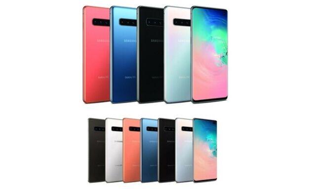 Samsung Galaxy S10 Plus SM-G975U1 (Factory Unlocked) B Light Burn