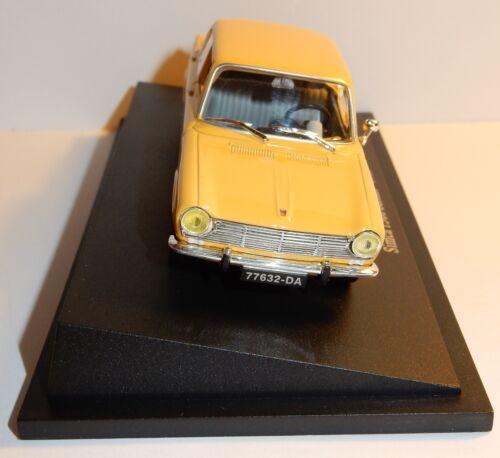 UNIVERSAL HOBBIES UH SIMCA 1300 BERLINE 1965 POSTES POSTE PTT 1//43 BLISTER BOX