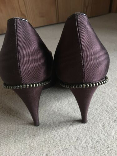 Fabric Size Lace Eu Brogue Up Smith Heels Brown Uk 7 Ladies Swirl 41 Paul xaIXqBzX