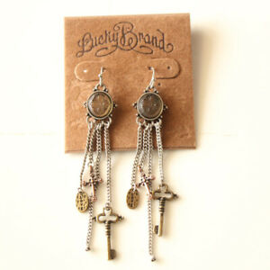 New-Lucky-Brand-Charms-Tassel-Drop-Earrings-Gift-Vintage-Women-Party-Jewelry-FS