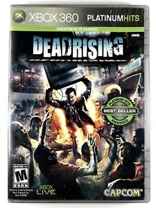 FREE SHIPPING! Dead Rising Platinum Hits (Xbox 360) Complete Capcom Zombie Game
