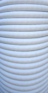 10 Würgeklemmen 10mm Gummiseil Planenseil Meter Plane 20m Expanderseil weiß