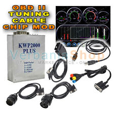 CAVO KWP 2000 PLUS + ECU FLASHING OBDII RIMAPPA CENTRALINE FORD MERCEDES BMW VW