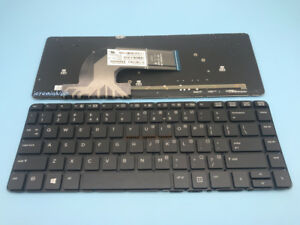 NEW-For-HP-Probook-440-G0-440-G1-445-G1-English-Keyboard-Backlit-No-Frame