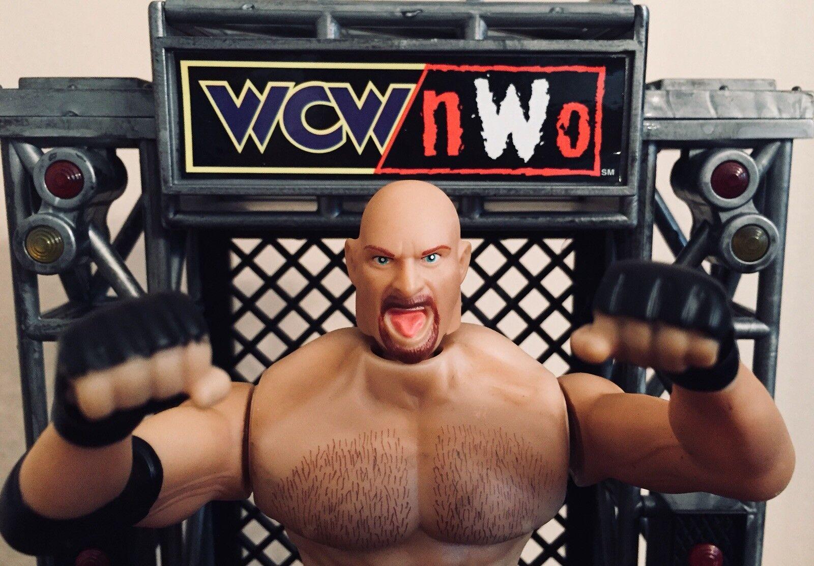 Bill goldberg 1999 Electronic Talking Rumble 'N Roar Wrestler WCW NWO WWE WWF