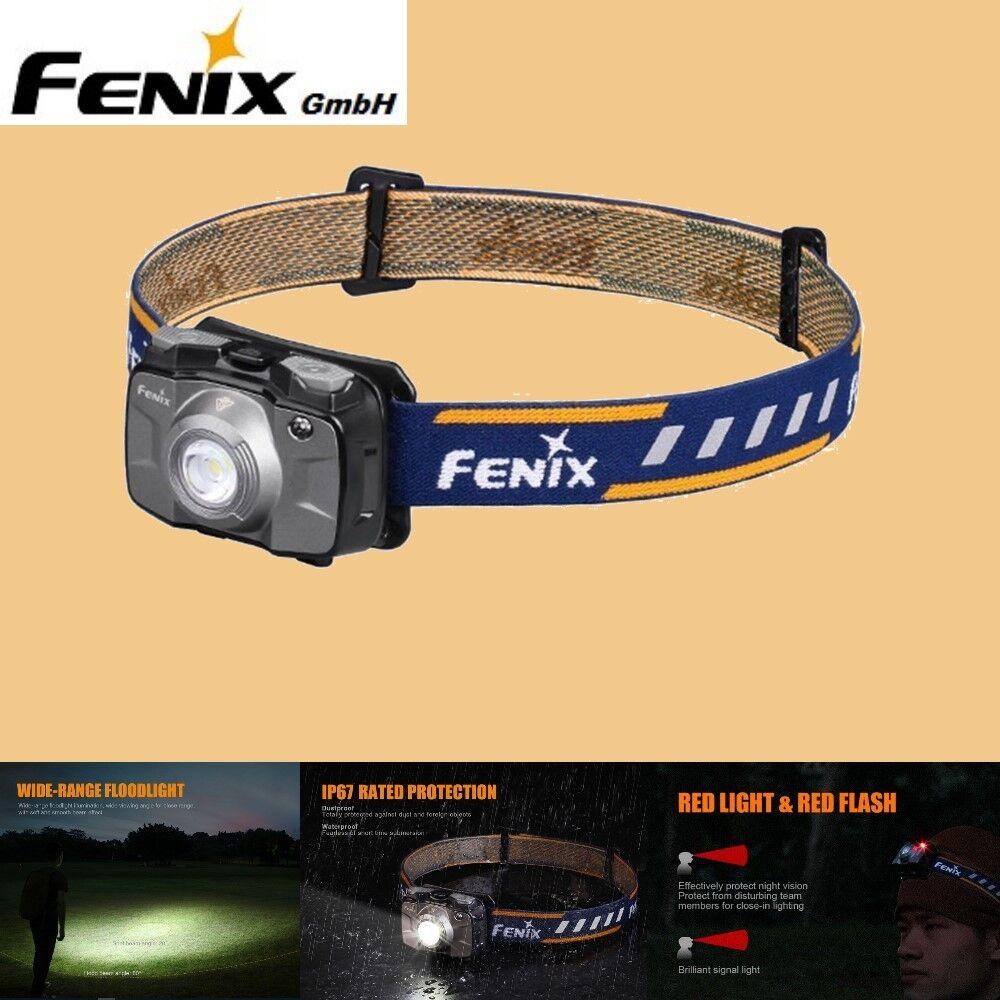 Fenix HL30 2018 LED Kopflampe Stirnlampe Kopflampe LED Helmlampe Grau 09d3d0