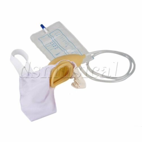 BT-4 Ventilate Male Urine Collector Bag with 1000ml Spill Proof Collection Bag