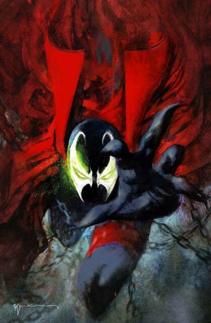 Spawn #301 Cover N Virgin Sienkiewicz Variant Image Comic 1st Print 2019 NM