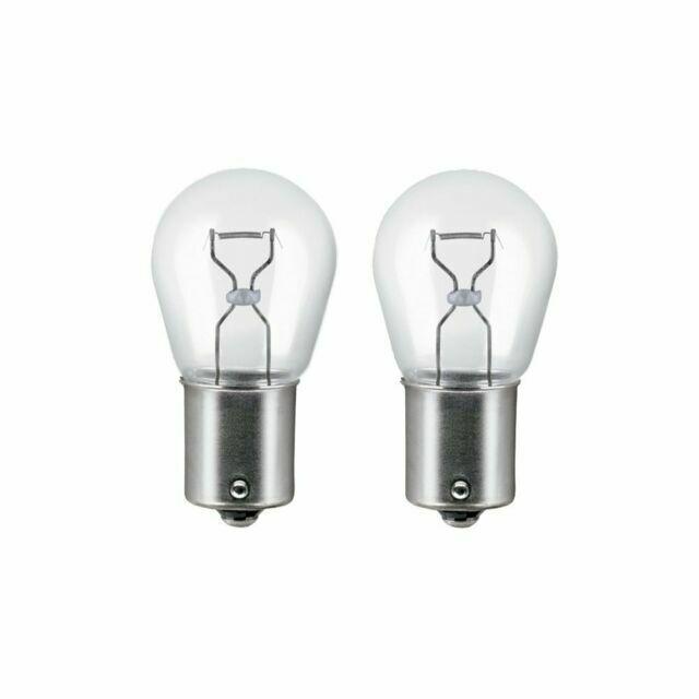 12v BA15s REVERSING LIGHT Bulbs 7506-02B P21W 2x Genuine OSRAM Original 382