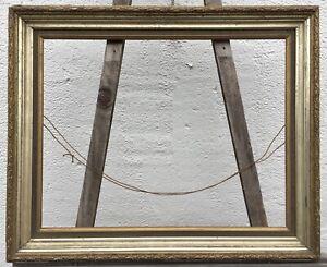 ANTIKER-BILDERRAHMEN-BERLINER-LEISTE-WASCHGOLD-19-CENTURY-ANTIK-43-8-x-56-3-cm
