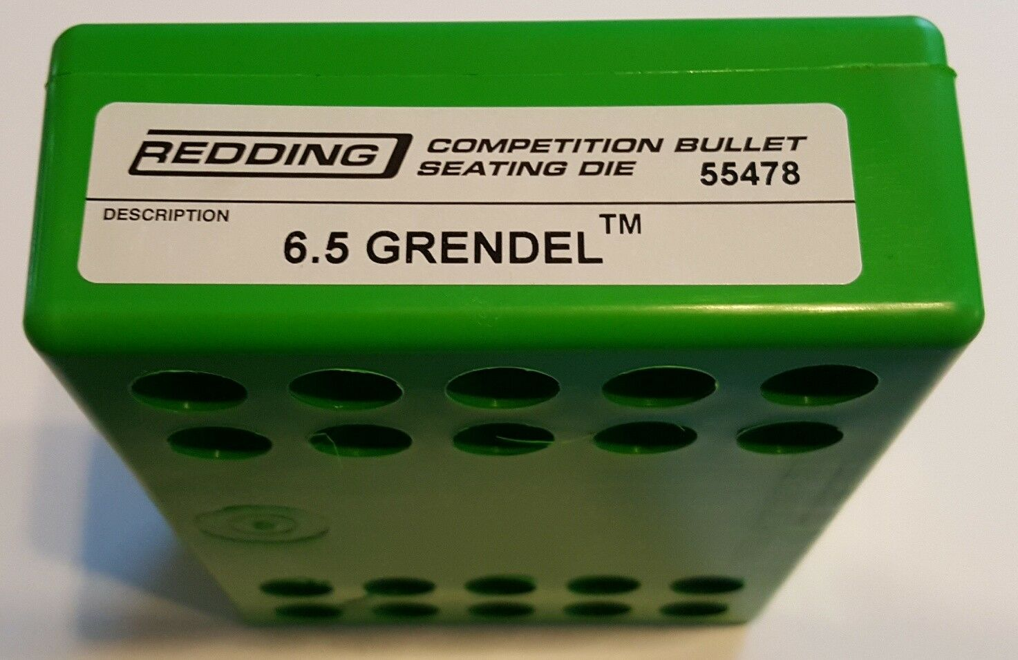 55478 REDDING COMPETITION SEATING DIE - 6.5 GRENDEL - NEW - FREE SHIP