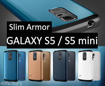 COQUE SLIM ARMOR Sgp SAMSUNG Galaxy S5 /S5 mini + 1 Film écran Offert