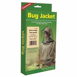 Coghlan-039-s-Bug-Jacket-Large-Black-Unisex-Flame-Retardant-Lightweight-Mosquito-Net