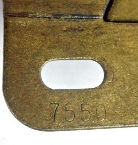 "Amerock 7550 Cabinet Door Hinge Wrap Frame Self Close Brass 1//2/"" O/'lay Vintage 1"