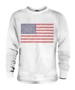 Uniti Maglione Usa America Scarabocchiato Regalo Unisex Bandiera Stati nqxwgT8Ytg