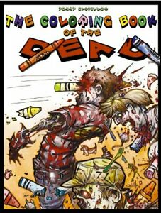 Tommy-Castillo-039-s-Coloring-Book-of-the-Dead-Art-Book-Walking-Dead-Zombies-New-NM