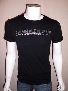 T Shirt Calvin Klein Homme Manche Courte Noir Ou Blanc Cmp53p Taille