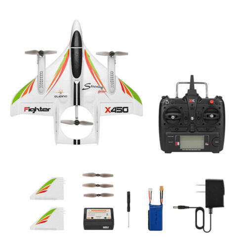 WLtoys XK X450 EPP RC Airplane 2.4G 6CH 3D//6G RC Aircraft Glider Fixed Wing RTF