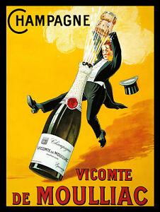 Man Cave Champagne Bar//Pub Novelty Gift Retro Metal Plaque//Sign
