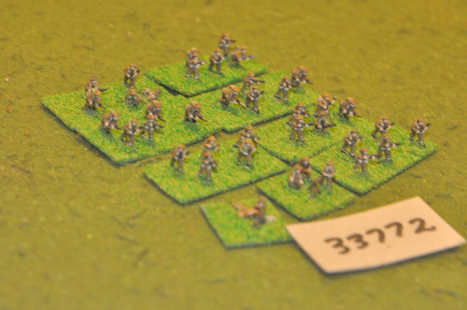 10mm WW2   british - platoon 40 figures - inf (33772)