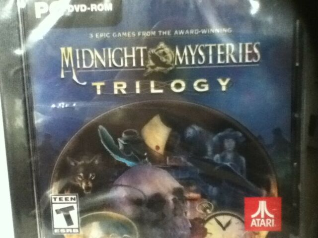 Midnight Mysteries Trilogy Atari Pc Dvd Rom 3 Hidden Object Computer Games For Sale Online Ebay