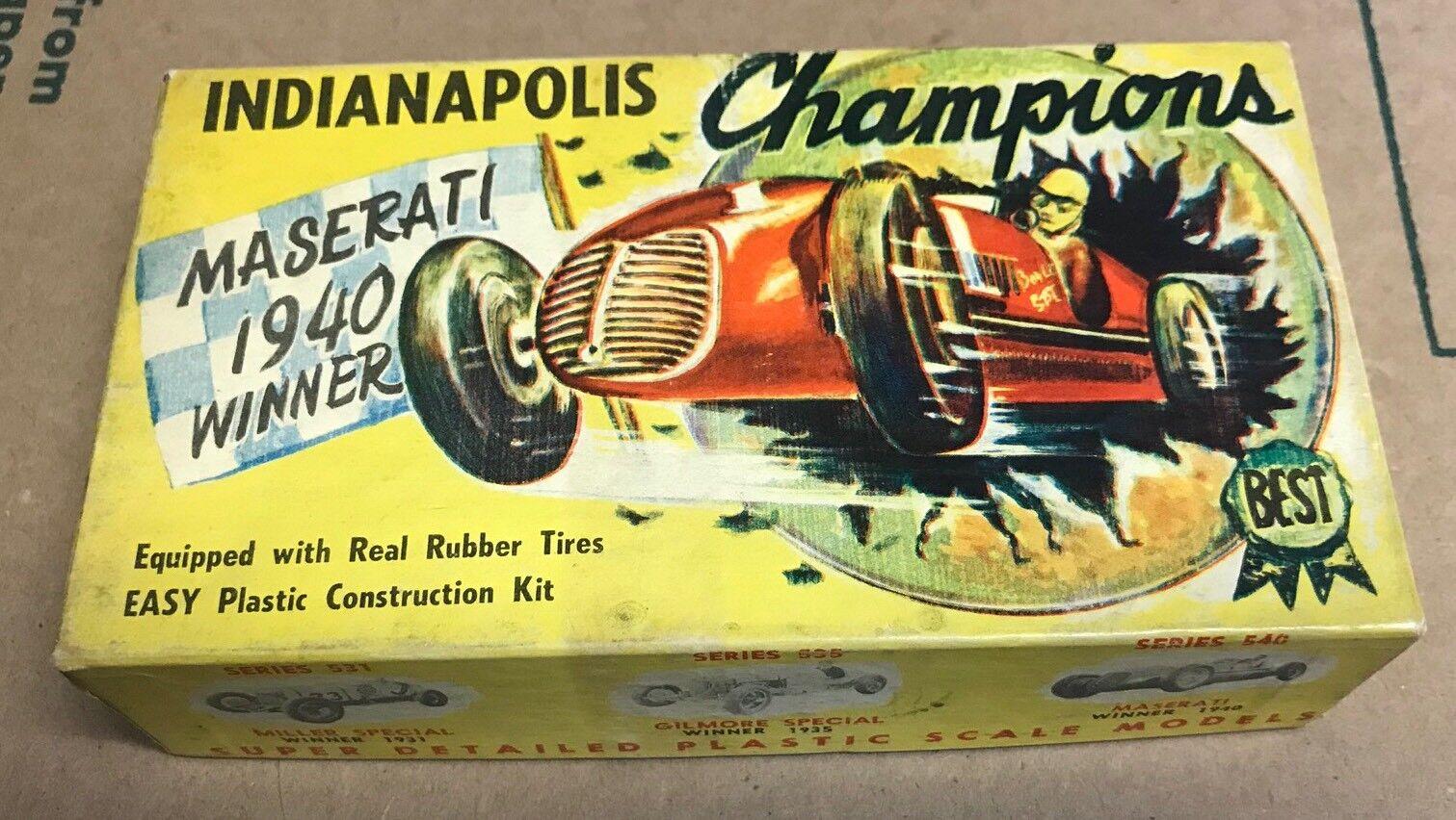 Jahrgang 1940 sieger indianapolis meister maserati modell rennwagen nicht