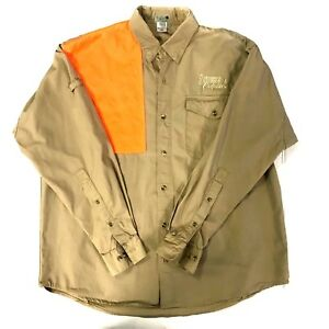 Details about Scheels Outfitters Men's Sporting Goods Hunting Button-Down  Shirt Size L