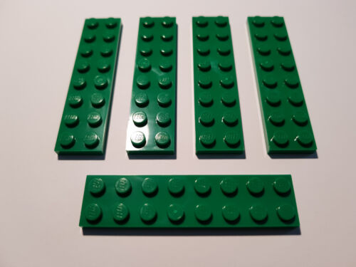 City Wald #BC01 LEGO® 5 x 3034 Platte 2 x 8 grün Green 303428