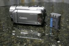 Canon Vixia HF R100 HD Camcorder Fully Tested Charger Not Included FREE SHIPPING