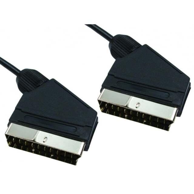 15m Largo Conector Adaptador cable cableado completo 21 PIN RGB Cielo Tv Dvd