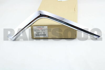 FR BUMPER S 6407A122 Genuine Mitsubishi GARNISH
