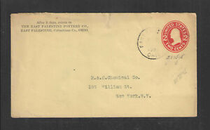 1909-THE-EAST-PALESTINE-POTTERY-CO-OHIO-ADVERTISING-COVER-US-STAMPED-ENVELOPE