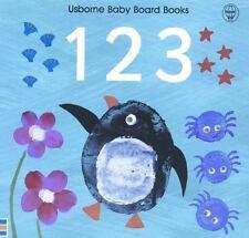 1 2 3 (Usborne Baby Board Books)