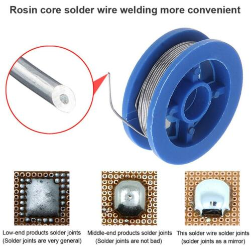 10g 0.8mm High Purity Rosin Core Solder Wire with 2/% Flux and Low Melting Point
