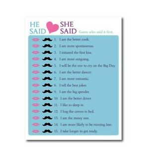 image regarding Bridal Shower Purse Game Printable known as Info above 2 Mild Blue Bridal Shower Get together Printable Online games, purse video game, He Stated, She Stated