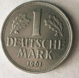 1961-F-Alemania-Marca-Excelente-Moneda-Superior-Vintage-Bin-20