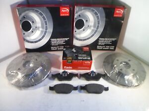 Ford-Fusion-Front-Brake-Discs-and-Pads-Set-2002-to-2012-APEC