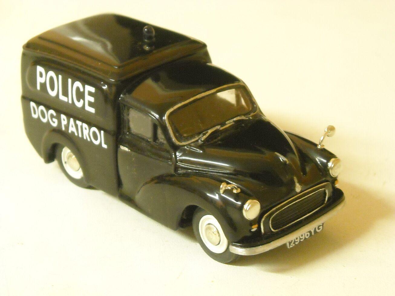 Morris 1000 policedog van yorkshire construit, échelle 1 43rd par k&r replicas