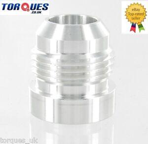 AN-12-AN12-12-JIC-AN-12-Male-Aluminium-Weld-On-Fitting-Round-Base