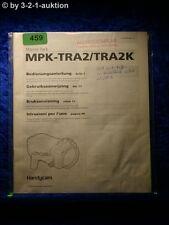 Sony Bedienungsanleitung MPK TR2 / TR2K Handycam Marine Pack (#0459)