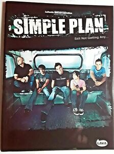 """simple Plan"" - Still Not Getting Any, Authentic Guitar-tab Edition-afficher Le Titre D'origine"