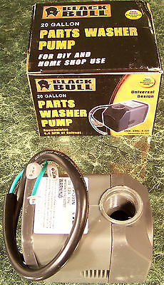 Replacement Parts Washer Solvent Pump Submersible Black Bull 120 Volt Ul Listed Ebay