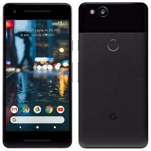 Google Pixel 2 64GB Verizon GSM Unlocked 4G LTE Smartphone AT&T T-Mobile - Black