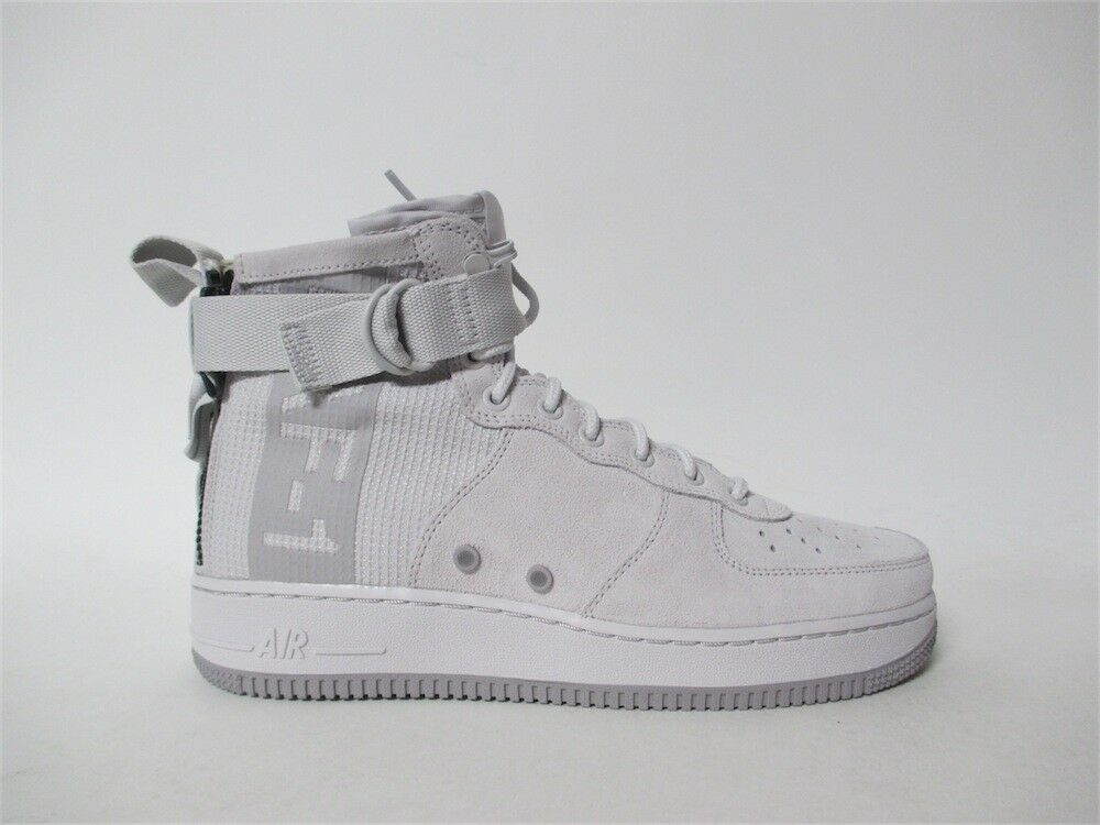 Nike SF Air Force 1 Mid Suede Grey Atmosphere Special Special Atmosphere Forces Sz 11 AJ9502-001 97dfe9
