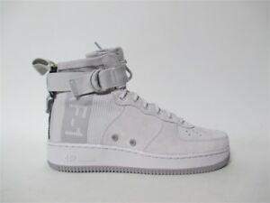 Details about Nike SF Air Force 1 Mid Suede Grey Atmosphere Special Forces  Sz 11 AJ9502-001