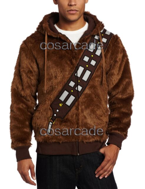 Star Wars Wookiee Chewie Chewbacca Furry Cosplay Costume Hoodie Sweatshirt/Shirt
